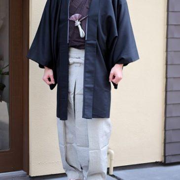 本日のコーディネート 男着物編