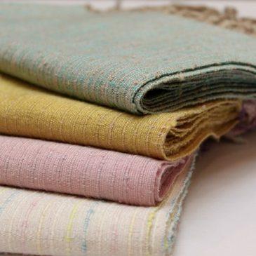 結城紬ショール 真綿紬でふんわり暖か