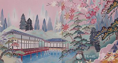 加賀友禅 花嫁のれん2-2