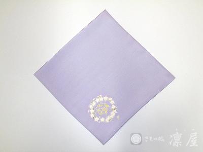 加賀友禅 茶道用正絹ふくさ1-5