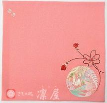 加賀友禅・袷ふくさ1-1