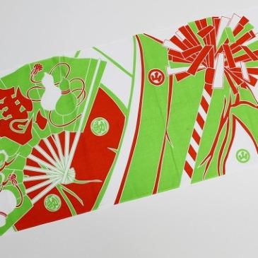 青柏祭のオリジナル手ぬぐい アーカイブ2019