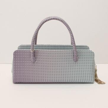 横長タイプの利休バッグ③ 綺麗色グラデーション